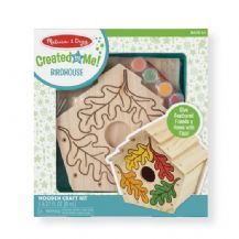 Wooden Birdhouse Craft Kit